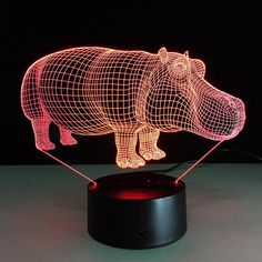 Contemplative 3d Lamp Anime Bear Night Light Battery Usb Led Lamp 7 Colors Change Desk Night Lamp Luminaria Birthday Holiday Gift Decoration Easy To Repair Led Night Lights