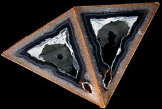 """""""polyhedroid agates"""" from the state of Paraiba in Brazil"""