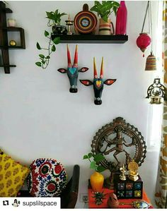 Ethnic home decor Home decor Indian home Indian home decor Indian decor Indian living rooms - Boho chic decor is one of the musthave trends of 2018 Grab the opportunity to buy them and get into - Indian Living Rooms, My Living Room, Living Room Decor, Living Room Designs, Bedroom Decor, Indian Room Decor, Ethnic Home Decor, Indian Decoration, Indian Home Interior