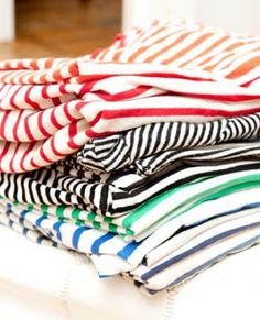 Stripes on stripes on stripes http://thecoveteur.com/Keegan_Singh