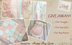 Giveaway going on Modern Rag Quilts FB page!!   https://www.facebook.com/ModernRagQuilts?fref=photo