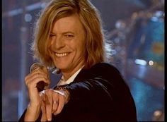 Bowie- that smile