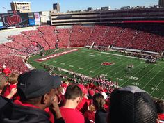 """See 1168 photos and 55 tips from 8545 visitors to Camp Randall Stadium. """"This stadium is the oldest and fifth largest stadium in the Big Ten Conference. Stadium Tour, Baseball Field, Basketball Court, Tours, Camping, Sports, Campsite, Hs Sports, Excercise"""