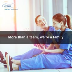 Work with us and be a part of our family.