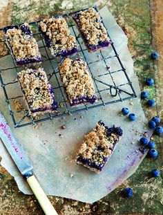 (WGMN) Blueberry Breakfast Bars