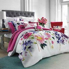 1000 Ideas About Floral Comforter On Pinterest