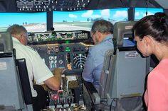 Virtual Jet Centre - Flight simulator 60 minute couples flight experience
