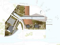 Centre Nautique - Tank Architectes Centre, Base, Architects, Atelier, Graphic Design
