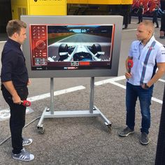 """Reporter:""""So tell us what's going through your mind at this moment Valtteri!"""" Bottas:""""Hunger!, I missed Lunch!"""""""