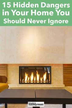 15 Hidden Dangers in Your Home You Should Never Ignore Buying A New Home, Things To Do, New Homes, Diy Projects, Hacks, Make It Yourself, Board, Home Decor, Stylish Dresses