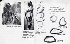 THE ART OF GLEN KEANE.: GLEN KEANE´S NOTES (9)