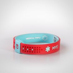 MyID Sport Kids Medical ID Bracelet - Every MyID™ comes with a free online medical profile that is customizable & can be updated at any time.