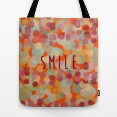 #totebag #smile #optimism #happiness #1mondeapart