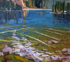 Glacial Reflections William F. Reese, Artist