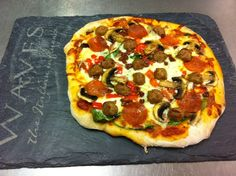 Rustic home-made pizzas - eat in or take away in Tenby, Pembrokeshire!