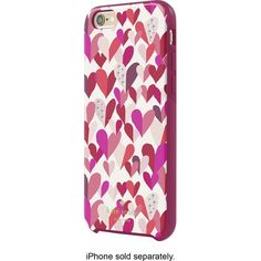 Safeguard your Apple iPhone 6 or 6s in style with this kate spade new york Hybrid hard shell case, featuring polycarbonate construction for reliable protection from wear and tear. The rubberized bumper resists impact from unexpected drops.