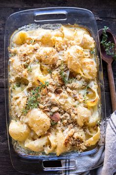 Baked Brie Mac and C