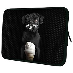 Case Dog Cream para tablet ou notebook