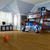 This Armstrong high performance #hardwood can stand up to anything your kids dish out. Perfect for a  #kids bedroom