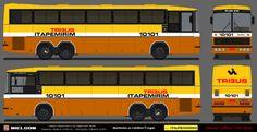 Viação Itapemirim 10101 – Ônibus Paraibanos Desenhos