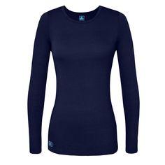 Sivvan Women's Comfort Long Sleeve T-Shirt/Underscrub Tee – T-Shirts Life Safety Clothing, Clothing Basics, Women's Clothing, Neck T Shirt, Scrubs, Long Sleeve Shirts, T Shirts For Women, Sleeves, Ebay