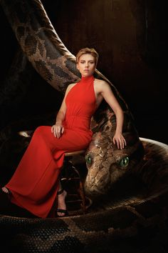 This fantastic photo series features the star-studded cast of the live-action update of The Jungle Book posing alongside their CG animal counterparts.