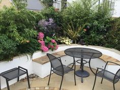 Pretty seating area in Caterham