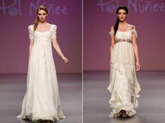 Vestidos de novia de Pol Nuñez.  www.webnovias.com