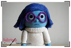 Sabrina's Crochet - Free crochet pattern Sadness (Inside Out) (German)