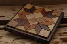 Solid Hardwood Puzzles. $88.00, via Etsy.