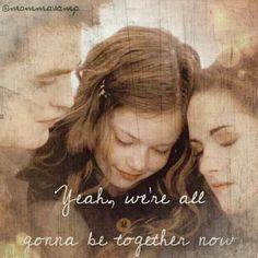 Breaking Dawn part 2 ~ Edward, Bella and Renesmee Twilight Saga Series, Twilight Movie, Twilight Renesmee, Vampire Twilight, Twilight Breaking Dawn, Breaking Dawn Part 2, Twilight Quotes, Twilight Pictures, Mackenzie Foy