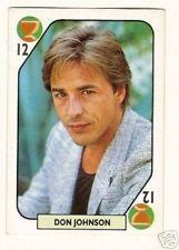 Don Vice Johnson Miami | Miami Vice Don Johnson Spanish TV Show Card B