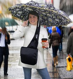 A bag that holds your umbrella.