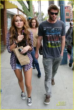Yup, I secretly love Miley Cyrus.   Cool style, hot boyfriend, and who doesn't love cheesy Disney channel?