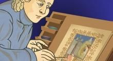 "Video ""The Structure of a Medieval Manuscript"" from the J Paul Getty Museum on ArtBabble"