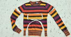 Aus alten Pullovern nähst du schnell warme Winteraccessoires. Mützen, Stirnbänder, Handschuhe, Armstulpen wärmen dich nach wenigen Minuten des Schneiderns