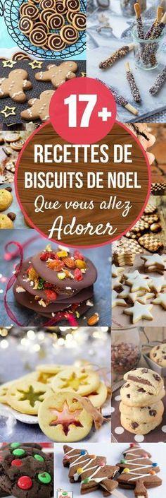 17+ RECETTES DE BISCUITS DE NOËL QUE VOUS ALLEZ ADORER. #noël #noël2017 #cuisine #gateau