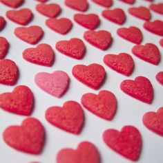 Heart Shape Cookies Photographed by Yuli Silva Acuna - Peru - Red- FairMail - Fair Trade Cards - FMC048
