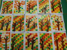 kunst klasse 3 new style black haircuts - Black Haircut Styles Easy Fall Crafts, Fall Crafts For Kids, Craft Projects For Kids, Class Art Projects, Fall Projects, Autumn Art Ideas For Kids, Art For Kids, Primary School Art, Elementary Art