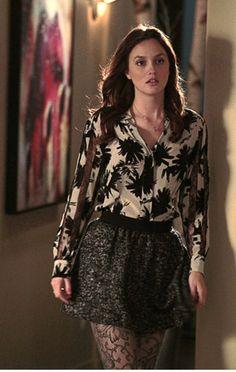 Blair - Dries van Noten blouse , Ulla Johnson skirt