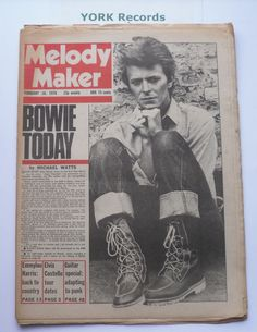 MELODY MAKER - February 18 1978 - DAVID BOWIE / EMMYLOU HARRIS / ELVIS COSTELLO ... (2016/07/28)
