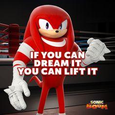Knuckles Fitness Motivation