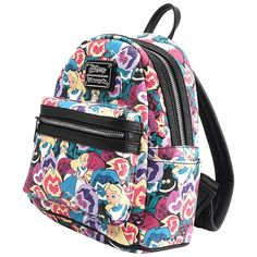 Disney - Alice in Wonderland Flower Loungefly Mini Backpack - ZiNG Pop Culture