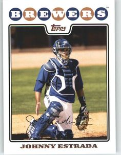 2008 Topps 139 Johnny Estrada - Washington Nationals (Baseball Cards) ** Want to know more, click on the image.