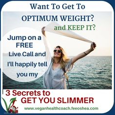 Want to lose some weight?  Want to actually feel good about it? Get onto a Free Discovery Call with me and I'll tell you my best 3 ways that you can start to slim down. Please, don't worry - you don't have to go vegan to see some results. Click the link to book an appointment https://visibook.com/feescoaching #healthylifestyle #loseweight
