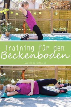With this pelvic floor training, you can build your muscles. The pelvic floor . - With this pelvic floor training, you can build your muscles. The pelvic floor . Pilates Workout Routine, Fitness Workouts, Fitness Del Yoga, Training Fitness, Physical Fitness, Fitness Tips, Cardio, Fitness Motivation, Health Fitness