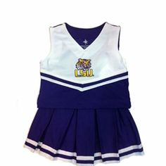 LSU Tigers Cheerleading Outfit! $40  tooo cute....go tigers.....