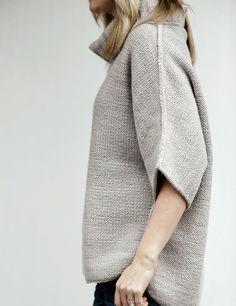 Manos Beaubourg Sweater Knitting Pattern