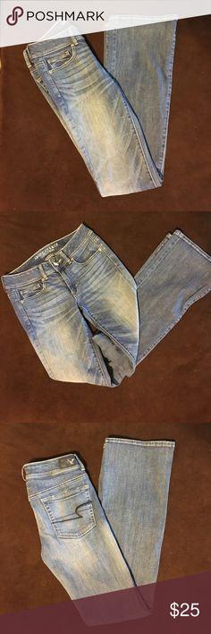 American Eagle Jeans 🦅 American Eagle Jeans-Kick Boot Cut, Super Stretch. 🦅 American Eagle Outfitters Jeans Boot Cut