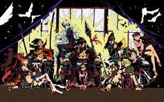 Anime 2560x1600 Tengen Toppa Gurren Lagann Littner Yoko Simon anime Teppelin Nia Kamina